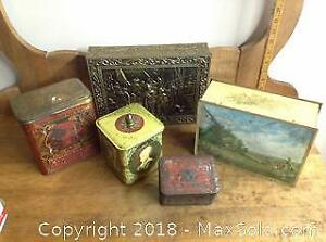 Antique & Vintage Tins