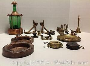 Compasses and Brass and Copper. A