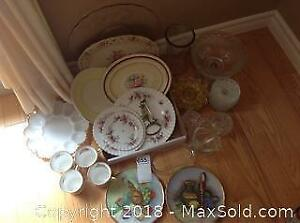 Decorative Serving Plates, Cups and More A