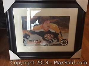 Signed Bobby Orr Picture