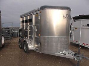 New Horse and Stock Trailers For Sale- Ready For Winter
