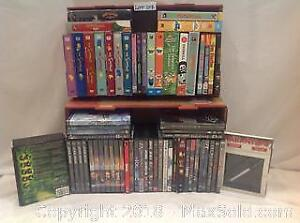 DVD Box Sets and Singles