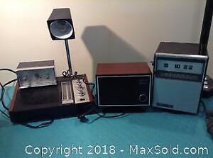 Vintage Longines Symphonette Radio Electronics B