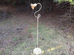 Antique Metal Floor Lamp B