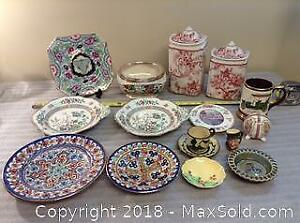 Porcelain Lot Chintz Royal Doulton Etc A