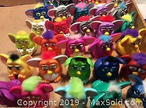 30 Furbys From 1998 McDonalds Promotion A