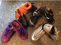 Kids Football Boots / Trainers Bundle