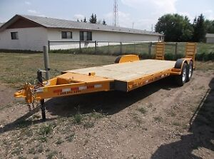 Numerous Flat Deck Trailers In Stock