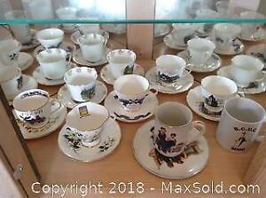 Tea Cups and Saucers Lot 4 A