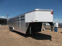 Sundowner Rancher 8x26 GN Stock Trailer