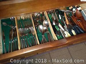 Oneida Flatware, Spreaders, Sheffield And More B