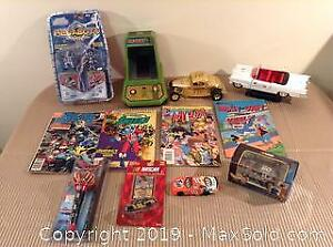 Frogger Die Cast Cars Comics Toy Lot A