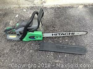Hitachi 16 Inch Bar Gas Chainsaw C