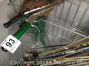 Fishing Poles And Nets- A