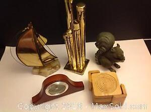 Ship, Coin Sorter, Mantel Clock, Coasters, Squirrel