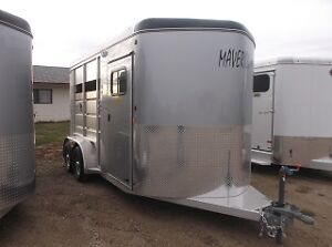 New Bumper Pull Horse and Stock Trailers for Sale