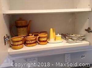 Pottery Set and China A