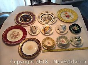 Fancy Cups And Saucers And Plates A
