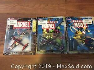 Lot 2002 3 Ultimate Marvel Air Force Collection