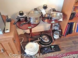Pots, Pans and Grinder A