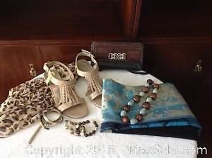 SHOES, JEWELRY, SCARVES