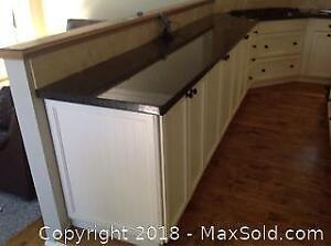 Kitchen Cabinets And Granite Counters B