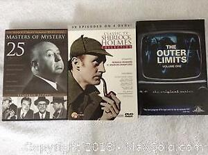Dvd Lot with Alfred Hitchcock And Outer Limits