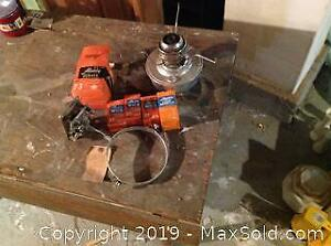 Portable Kerosene Heater And Aladdin Light Parts A