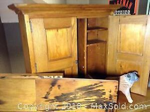 Small Pine Cabinet A