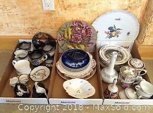 Misc China And Decorative A