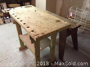 Work Table And Work Bench A