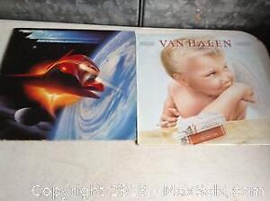 Vinyl Lps ZZ top and Van Halen