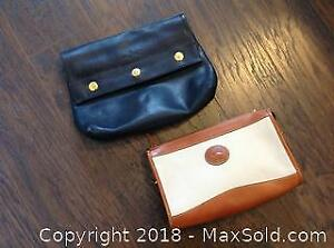 Two well-crafted purses by noted designers. One by Mastro Rocco, and one by Dooney and Burke leather bag.