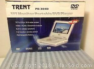 Trent Monitor Portable DVD Player