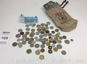 Bag Of Foreign Currency
