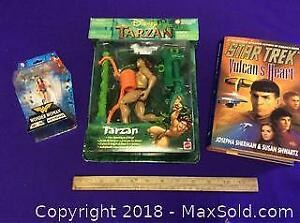 Star Trek, Tarzan, Wonder Woman Lot