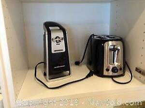 Toaster And Can Opener A