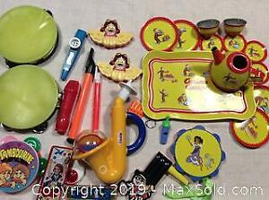 Childrens Music Sound Makers And Tea Set
