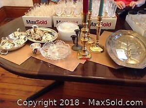 Silver Plate Items And More A