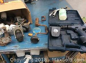 Misc. Tool And Hardware Lot