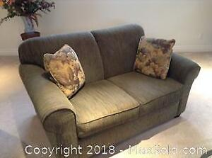 Upholstered Loveseat B
