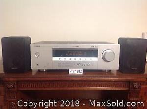 Stereo Receiver And Speakers