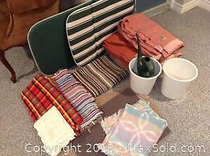 Mats, Blankets, Chair Pad And More A