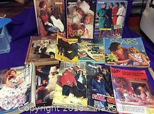 Lot Of Sears, Zellers Catalogues 70s, 80s