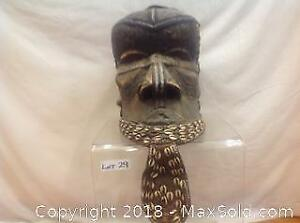 African Mask14dx10wx14h