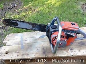 Old Lombard Gas Chainsaw C