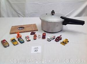 Willie Nelson Box Set, Pressure Cooker, Toy Cars