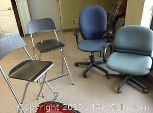 Office Chairs And Stools C