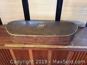 Antique Wooden Shaped Box
