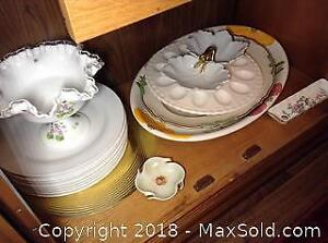 Serving Plates and Linen Napkins A